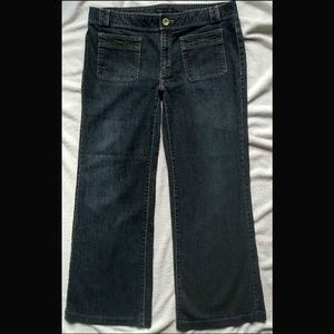 Banana Republic wide leg Jean trouser fit